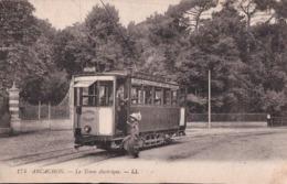 Arcachon  (33) Le Tram électrique  CPA Non  Circulée - Arcachon