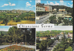 TOSCANA - CHIANCIANO TERME - VEDUTE - VIAGGIATA 1970 - Italia