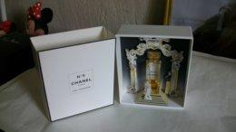 Miniature De Parfum Chanel N°5 Eau Première 1ère édition Bouteille En Partie évaporée - Modern Miniatures (from 1961)
