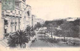 Afrique > Tunisie  TUNIS Cathedrale Et Avenue Jules Ferry (- Edition  LL 5  * PRIX FIXE - Tunisia
