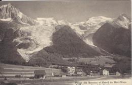74 LES BOSSONS TRAIN EN GARE TRAIN PLM SNCF A VOIX METRIQUE VALLEE DE CHAMONIX MONT BLANC CHARNAUX FRERES 5172 - Chamonix-Mont-Blanc
