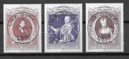 Österreich/Austria Mi. Nr.: 1638 - 40 Vollstempel (oev80er) - 1945-.... 2de Republiek