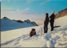 LOMBARDIA - GRUPPO DELL'ADAMELLO - PANORAMA INVERNALE  - VIAGGIATA 1970 - Alpinismo