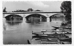 MANTES EN 1965 - N° 1017 - LE PONT DE LIMAY - FORMAT CPA VOYAGEE - Mantes La Ville