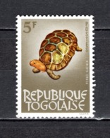 TOGO N° 397   NEUF SANS CHARNIERE COTE  0.50€ ANIMAUX TORTUE - Togo (1960-...)