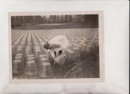 FRENCH GARDEN TRADE UNION QUARTERS COLDERS GREEN AMALGAMATED TENNIS COURT BOWLING  21*16CM Fonds Victor FORBIN 1864-1947 - Sin Clasificación
