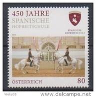 """Österreich 2015:  """"450 Jahre Spanische Hofreitschule""""   Postfrisch (siehe Foto/Scan) - 1945-.... 2de Republiek"""