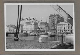OOSTENDE : -1952-HANDELDOK-GEEN POSTKAART-MAAR MOEDERFOTO VAN 15,50CM OP 10,50CM-MAISON ERN,THILL - Oostende