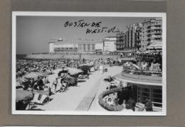 OOSTENDE : -1952-KURSAAL EN STRAND-GEEN POSTKAART-MAAR MOEDERFOTO VAN 15,50CM OP 10,50CM-MAISON ERN,THILL - Oostende