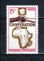 TOGO N° 424   NEUF SANS CHARNIERE COTE  1.20€  COOPERATION AVEC LA FRANCE - Togo (1960-...)