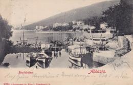 Opatija (Abbazia) * Bootshafen, Schiffe * Kroatien * AK777 - Kroatië