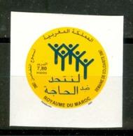 MOROCCO MAROC MAROKKO SEMAINE DE SOLIDARITÉ 2007 NON DENTELÉ - Maroc (1956-...)