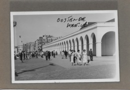 OOSTENDE : -1955- ZEEDIJK -GEEN POSTKAART-MAAR MOEDERFOTO VAN 15CM OP 9,50 CM-MAISON ERN,THILL - Oostende