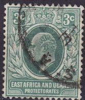 BRIT. OSTAFRIKA UGANDA [1907] MiNr 0034 ( O/used ) - Protectorados De África Oriental Y Uganda