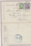 Carte-Lettre Vedren>Louvain-Kaart Brief Vedrin>Leuven..1920 - Belgique