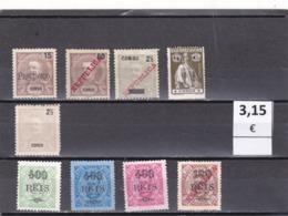 Congo Portuges    -  Lote  9  Sellos Diferentes - 9/4599 - Congo Portoghese