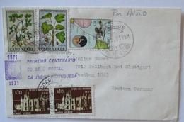 Cabo Verde, Brief 1971 Mit 5 Werte Nach Deutschland (50560) - Kap Verde