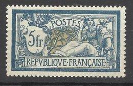 France N°123   5F Merson Bleu Et Chamois Très Bien Centré  Neuf  * * TB  =  MNH  VF      Soldé  à  Moins De 15 % ! ! ! - France
