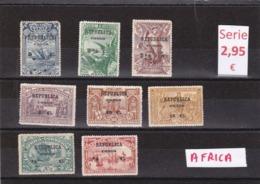 Congo Portuges    -  Serie Completa - 9/4600 - Portuguese Congo