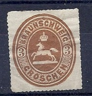 190032074  ALEMANIA  BRUNSWICK   YVERT   Nº   15  */MH - Brunswick