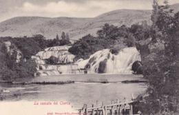 Krka * Wasserfall, Fluss, Stengel Nr. 4940 * Kroatien * AK781 - Kroatië