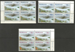 Philippines - 1962 Malaria Eradication Corner Blocks MNH **   Sc 868-70 - Philippines