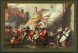 BM Jersey 1981 MiNr Block 2 (238-241) Used | Bicentenary Of Battle Of Jersey. Details Of J. S. Copley's Painting - Jersey