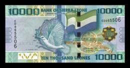 Sierra Leone 10000 Leones 2013 (2016) Pick 33b SC UNC - Sierra Leona