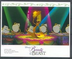 Mzr698 WALT DISNEY BELLE EN HET BEEST BEAUTY AND THE BEAST LUMIÈRE ST. VINCENT 1992 PF/MNH - Disney