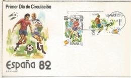 ESPAÑA SPD FDC 1981 COPA MUNDIAL DE FUTBOL ESPAÑA 82 FIFA FOOTBALL WORLD CUP - 1982 – Espagne
