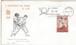 ESPAÑA SPD FDC JUDO DEPORTE - Judo