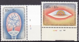 1981, Belgien, 2051/52,  MNH **,   Internationales Jahr Der Behinderten. - Belgien