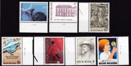 1981, Belgien, 2060+66/69+73+82,  MNH **,  Kleines Lot - Belgien