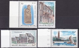 1981, Belgien, 2062/65,  MNH **,  Tourismus. - Belgien