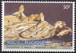 1981, Belgien, 2072,  MNH **, Mausoleen Zu Brügge. - Belgien