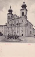 Gorica, Gorizia (Görz) * Jesuitenkirche, Brunnen, Stengel Nr. 5207 * Slowenien (Italien) * AK785 - Slowenien