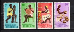 TOGO N° 495 à 498  NEUFS SANS CHARNIERE COTE  2.50€  ARTISANAT - Togo (1960-...)