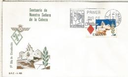 ESPAÑA SPD FDC SANTUARIO NUESTRA SRA DE LA CABEZA RELIGION - Iglesias Y Catedrales