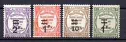 Serie Nº Taxa 21/4  Algeria - Argelia (1962-...)