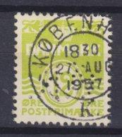 Denmark Perfin Perforé Lochung (Ø08) 'Ø.K.' Det Østasiatiske Kompagni (Eastasiatic Company) Wellenlinien Stamp (2 Scans) - Abarten Und Kuriositäten