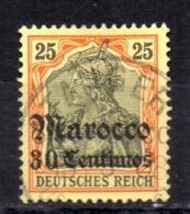Sello Nº 24 Alemania-marroco - Oficina: Marruecos