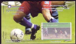 Sport 2003 0,55 € Bolzplatz, 4x2326, ESSt Berlin - [7] Repubblica Federale