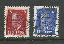 Estland Estonia 1939 Michel 146 - 147 O Gut Gestempelt! - Estland