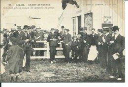 Calais-Champ De Course-Instantané Pris Au Moment Des Opérations Du Pesage 1906 - Calais