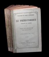 [PALEONTOLOGIE ANTHROPOLOGIE GEOLOGIE] MORTILLET (Gabriel De) - Le Préhistorique. - 1801-1900
