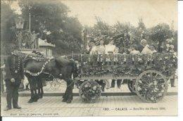 Calais-Batailles De Fleurs  1906 - Calais