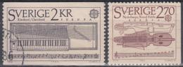 SUECIA 1985 Nº 1310/11 USADO, SE MANDARA EL ARTICULO DE LA FOTOGRAFIA - Suecia