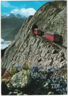 Alpnachstad - Pilatus-Kulm - Zahnradbahn / Cog-wheel-railway - Crémaillière - (Schweiz/Suisse) - Treinen