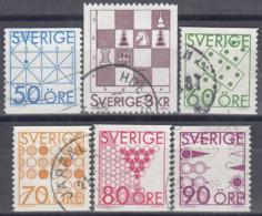 SUECIA 1985 Nº 1336/41 USADO, SE MANDARA EL ARTICULO DE LA FOTOGRAFIA - Suecia