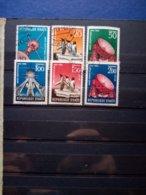 """001-HAITI -1958 """" Lotto Di  Annee Geophysique"""" Timbrati Con Gomma Nuova MNH - Haiti"""